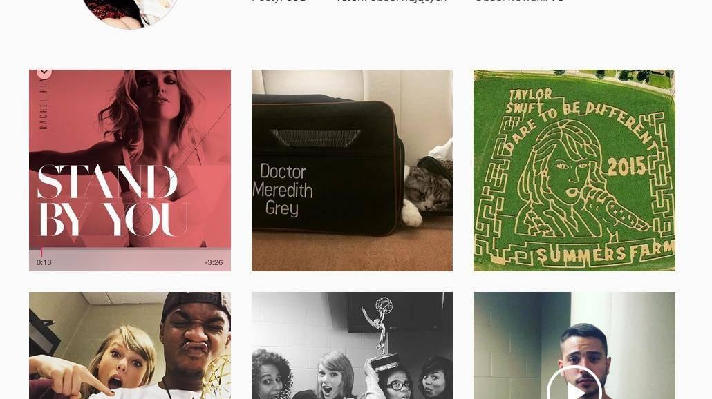 Taylor Swift popularniejsza od Kim Kardashian. Przejęła Instagram! [ZDJĘCIA]