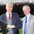 Alex Ferguson i Jose Mourinho pożegnali Arsene'a Wengera [WIDEO] - Manchester United, Arsenal Londyn, mecz, trener