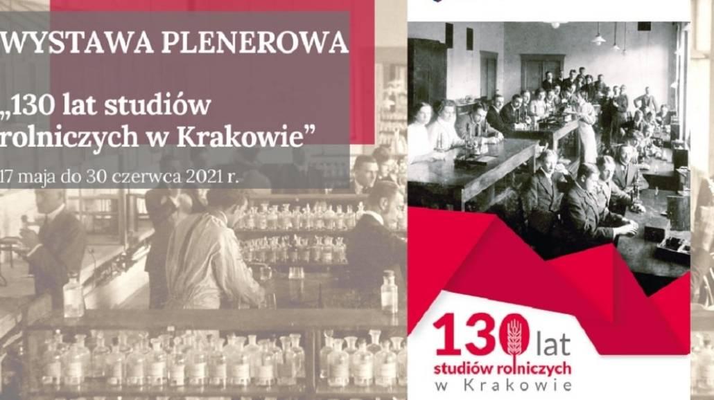 130 lat studiÃłw w Krakowie