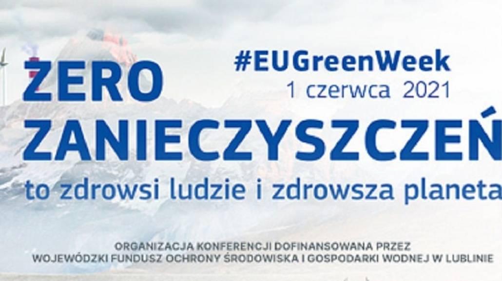 Plakat Green Week - konferecja