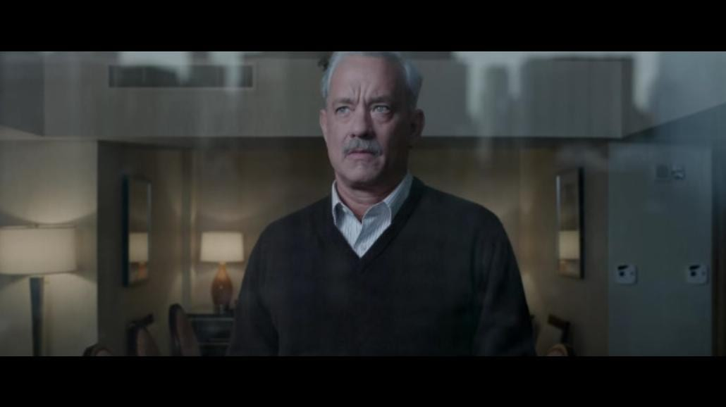 Tom Hanks jako bohaterski pilot w filmie Clinta Eastwooda [WIDEO]