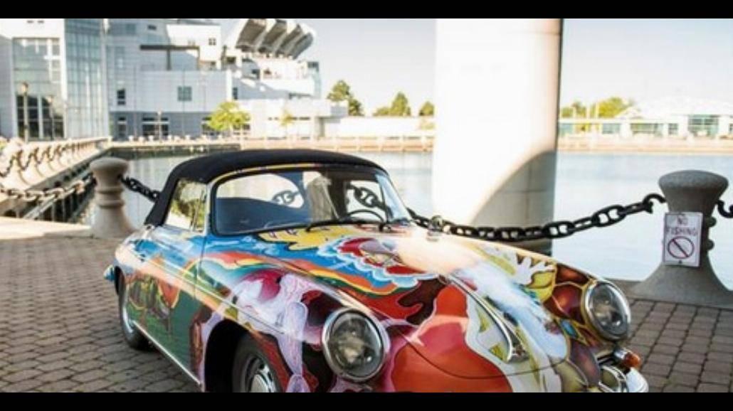 Porsche Janis Joplin wystawione na sprzedaż