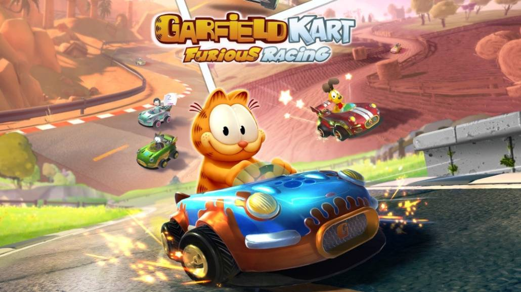 """Zobacz oficjalny trailer wideo gry """"Garfield Kart Furious Racing""""!"""