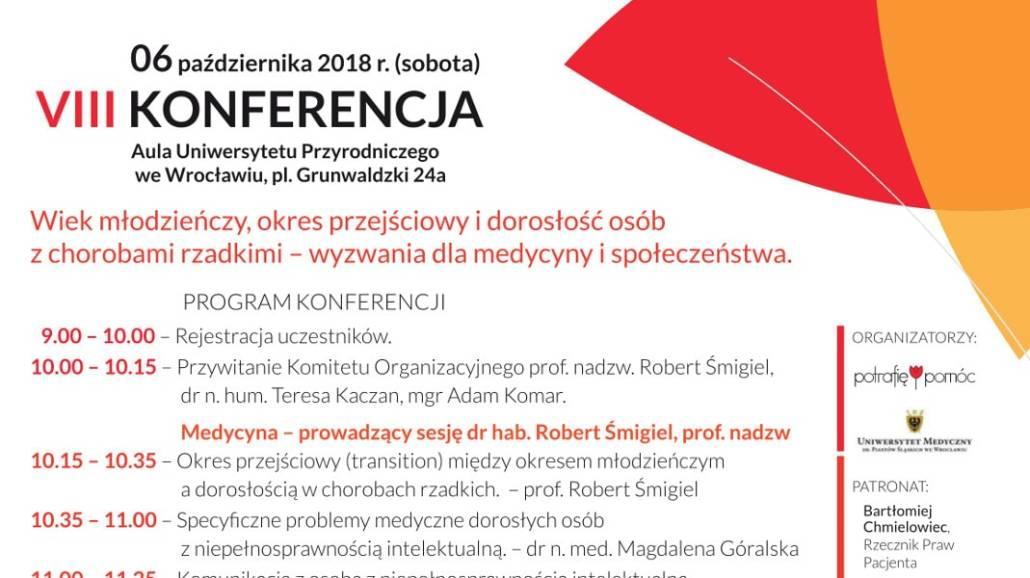 Konferencja odbędzie się 6 października 2018 roku.