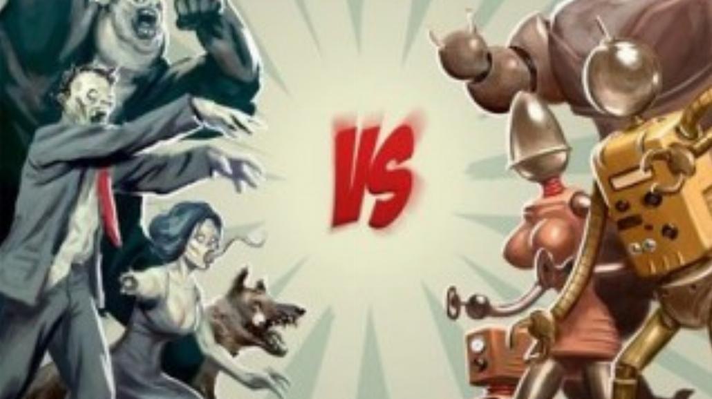 Zombie i roboty razem na dużym ekranie