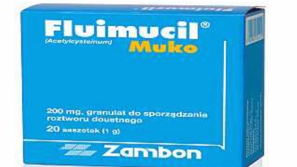 Fluimucil Muko - odetchnij z ulgą...