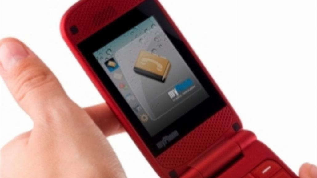 Telefon z klapą od myPhone