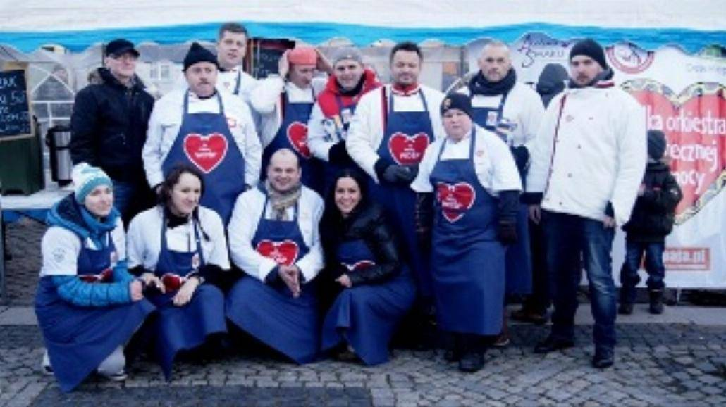 Bydgoszcz zbiera pieniądze na WOŚP [ZDJĘCIA]