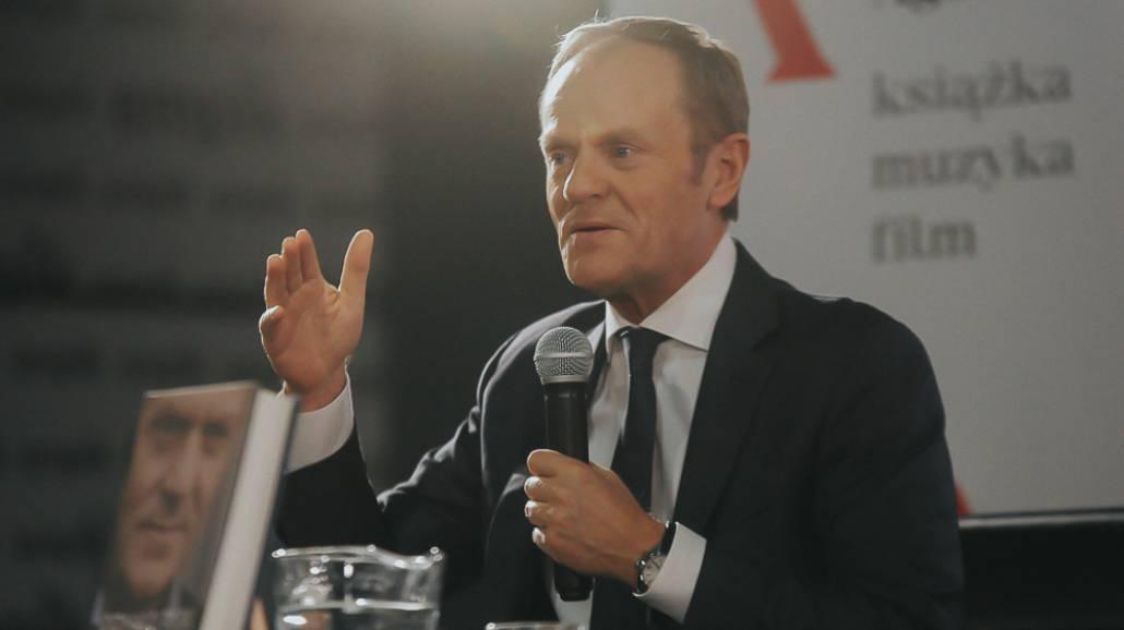 Donald Tusk - ksiąÅźka Szczerze