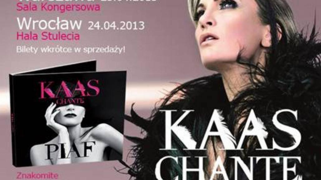 """""""Kaas chante Piaf"""" - premiera!"""