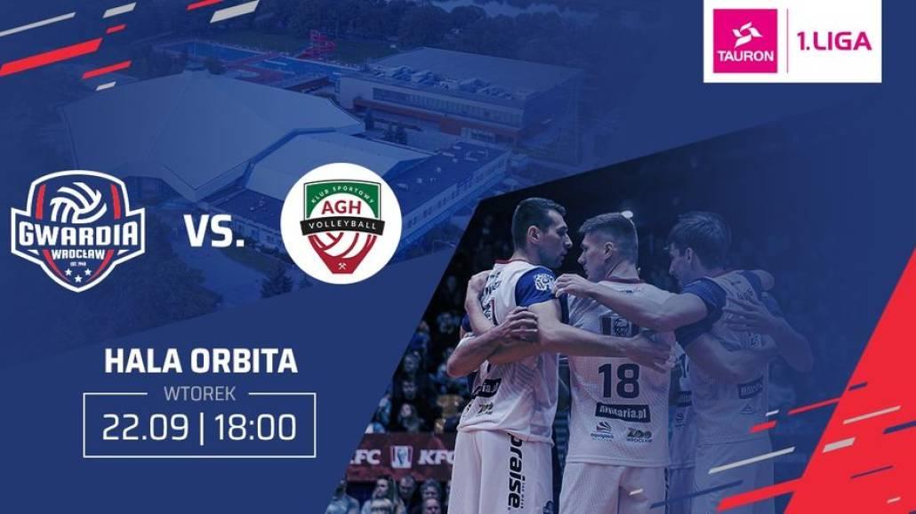 Gwardia Wrocław vs. AZS AGH KrakÃłw