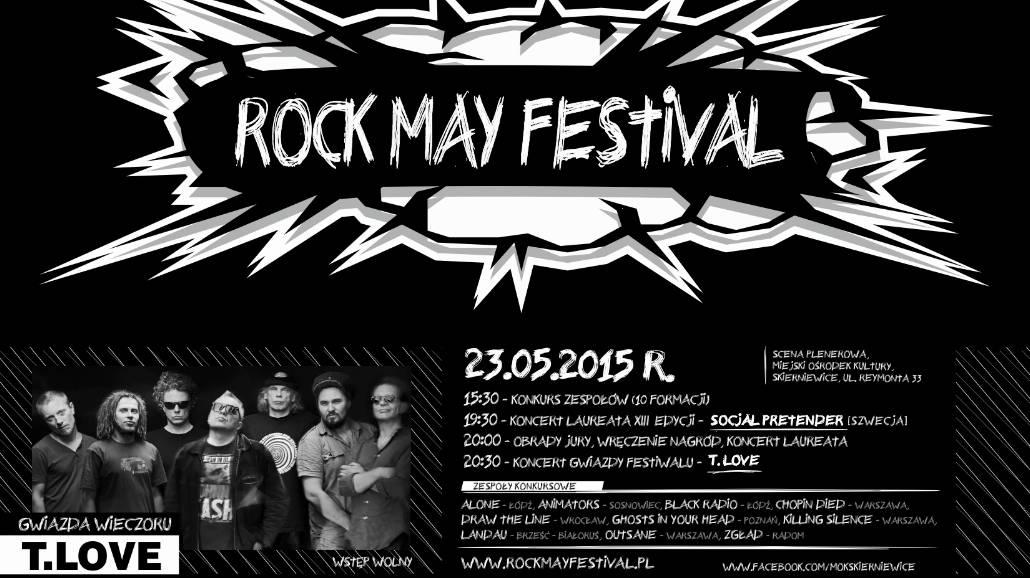 Rock May Festival. Zobacz program i zakwalifikowane zespoły
