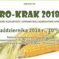AGRO-KRAK 2018 na UR startuje już 20 października! - rolnictwo, maszyny rolnicze, uprawa, gospodarstwo