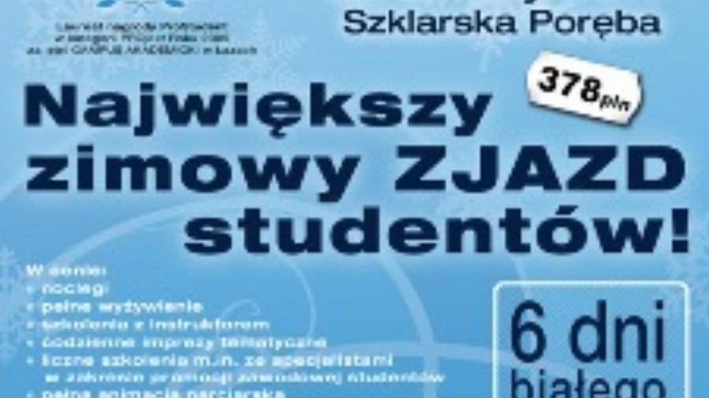 Zimowy Campus Akademicki – Szklarska Poręba