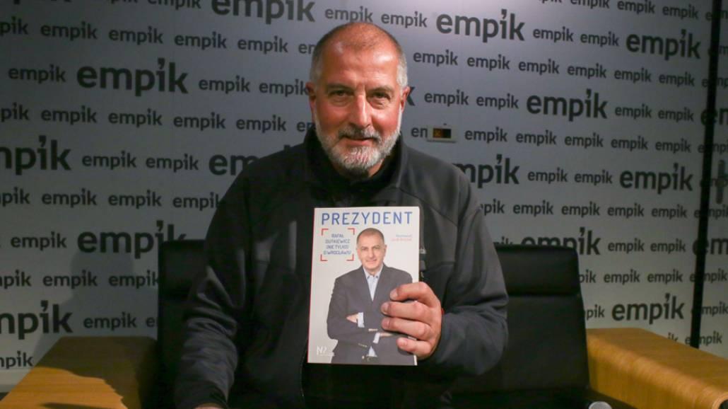 Rafał Dutkiewicz - spotkanie autorskie