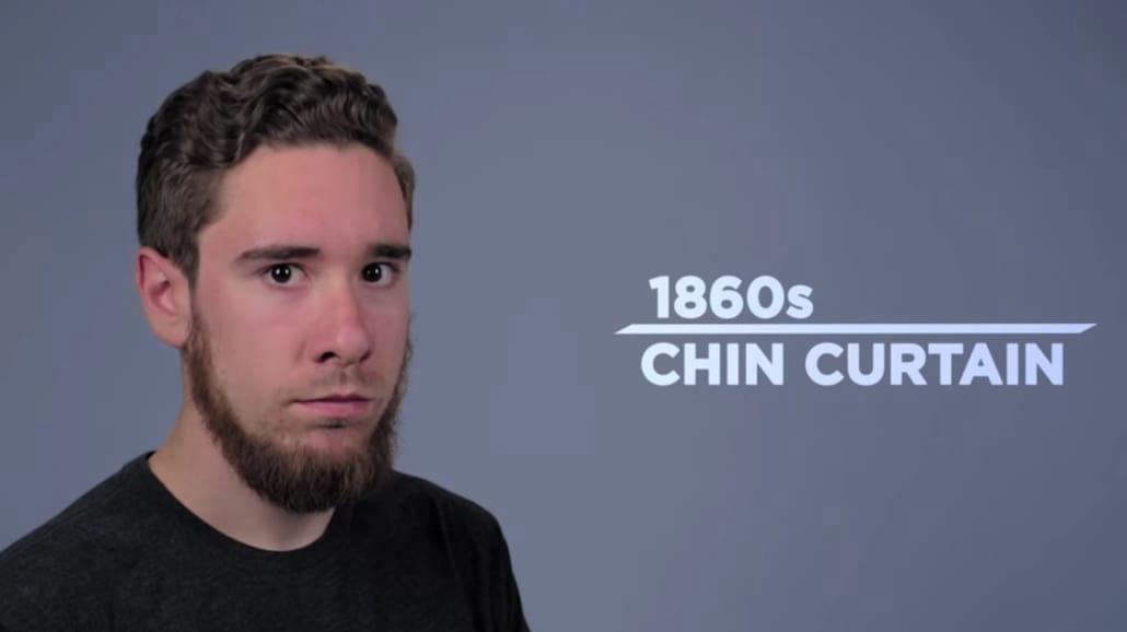 Męski zarost na przestrzeni wieków