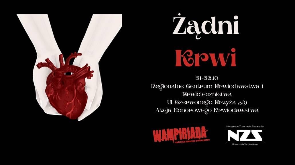 Wrocław wampirada 2020 oddawanie krwi