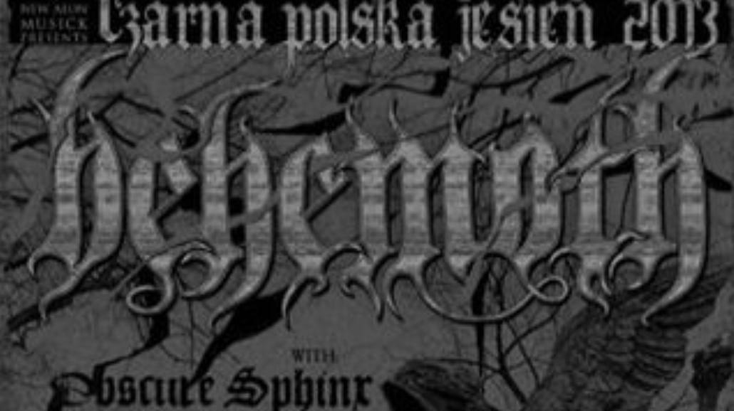 Czarna jesień 2013: Behemoth koncertuje