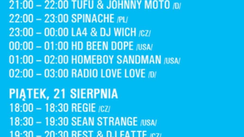 Hip Hop Kemp 2015. Znamy rozpiskę na Radio Spin Hangar!