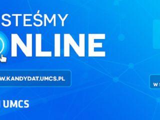#UMCSonline - czyli wirtualne drzwi otwarte, webinaria i wiele więcej! - Drzwi Otwarte, Webinaria, Rekrutacja, Baza wiedzy, Social Media, Transmisja, Relacja live, 2020