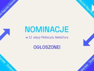 12. edycja Plebiscytu MediaTory: oto nominowani! - nominacje, dziennikarze, wyróżnienia, kategorie