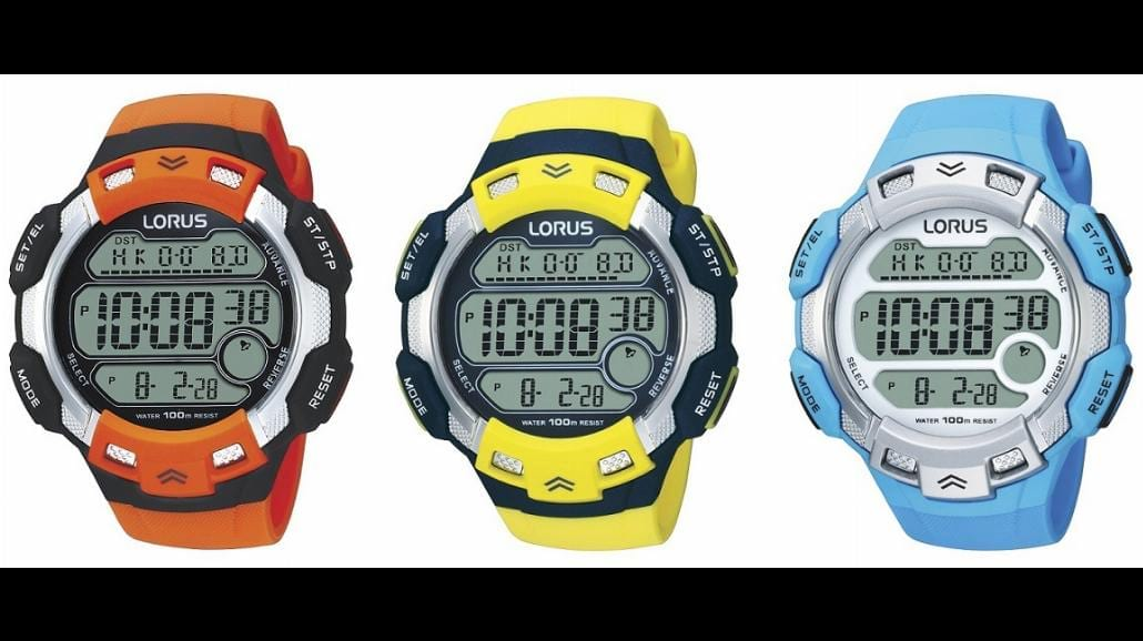 Sportowe, zegarkowe MUST HAVE od Lorusa
