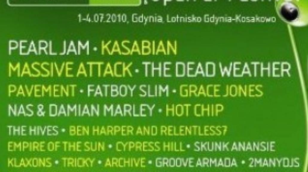 Dziś drugi dzień Heineken Open er Festival