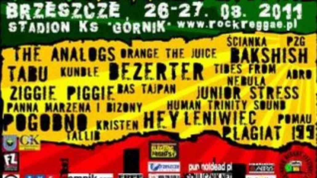 Rock Reggae Festiwal w Brzeszczach