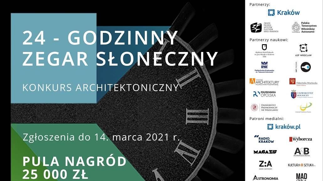 konkurs 24-godzinny Zegar Słoneczny