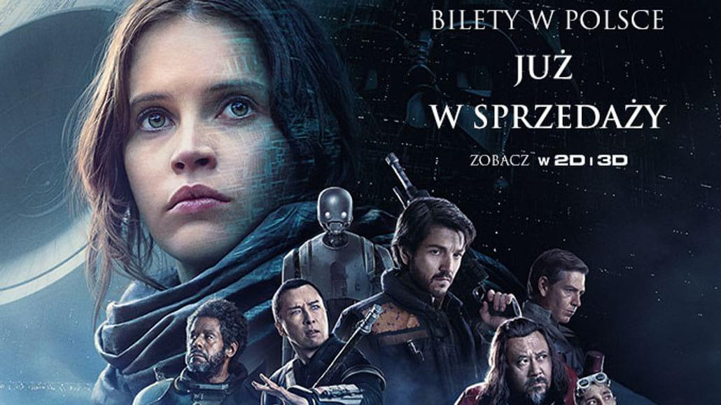 """Bilety na film """"Łotr 1. Gwiezdne wojny - historie"""" są już w sprzedaży"""