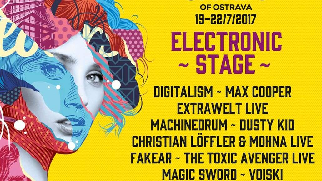 Colours of Ostrava 2017 - przedstawia line-up Electronic Stage