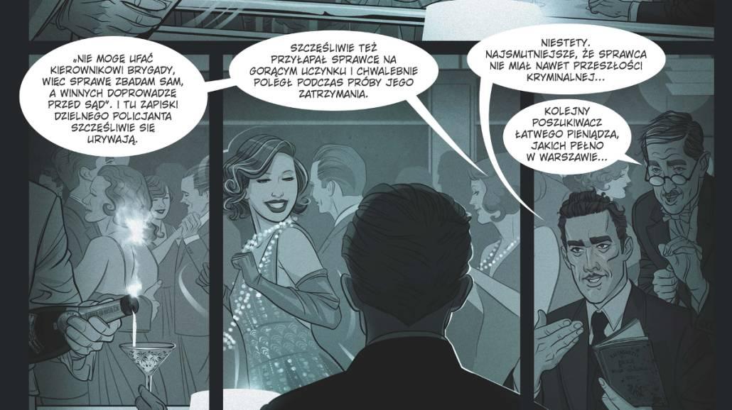 Bazyliszki komiks Egmont