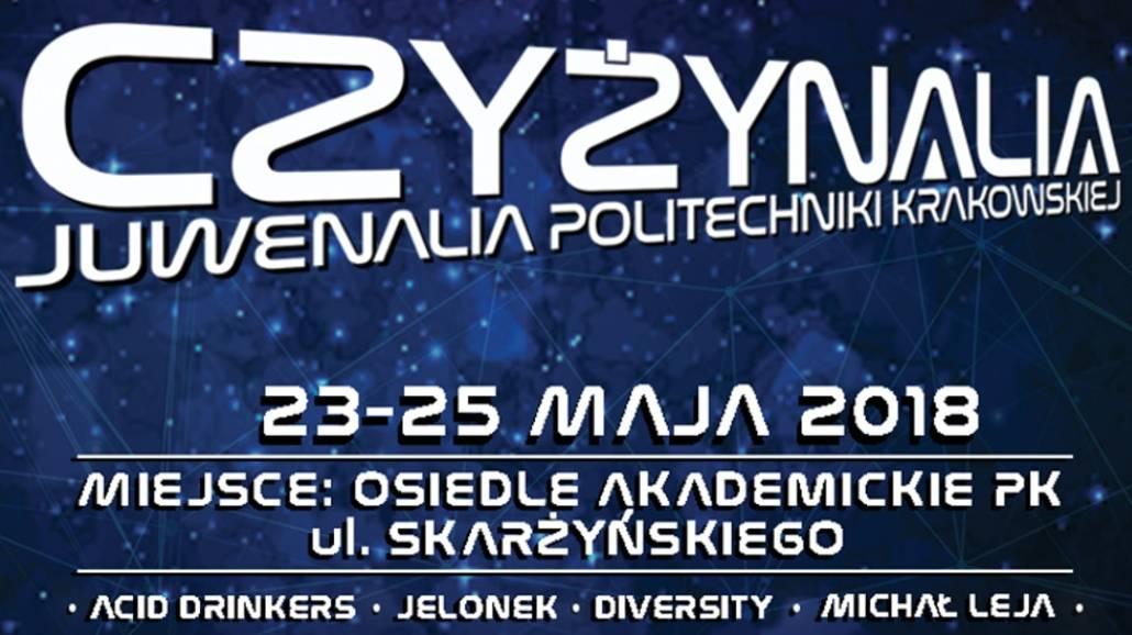 Zobacz, co siÄ™ bÄ™dzie dziaÅ'o podczas JuwenaliÃłw Politechniki Krakowskiej!