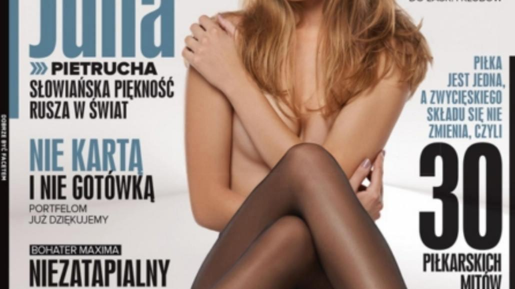 Julia Pietrucha na okładce Maxima (FOTO)