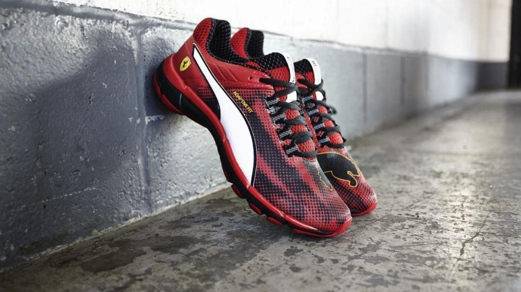Puma i Ferrari prezentują buty