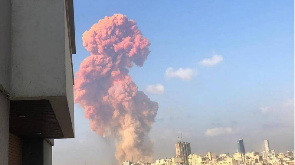 Potężna eksplozja w stolicy Libanu. Zobacz, co było przyczyną wybuchu [WIDEO]
