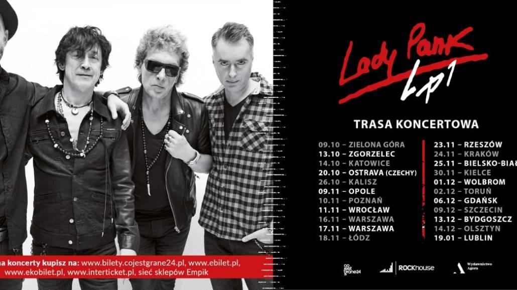 """Lady Pank zapraszają na jesienną trasę koncertową promującą """"LP1"""""""