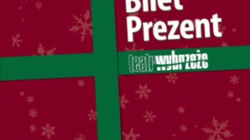 Bilet prezent na Święta od Teatru Wybrzeża