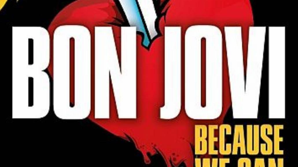 Wszyscy w jednakowych koszulach na Bon Jovi