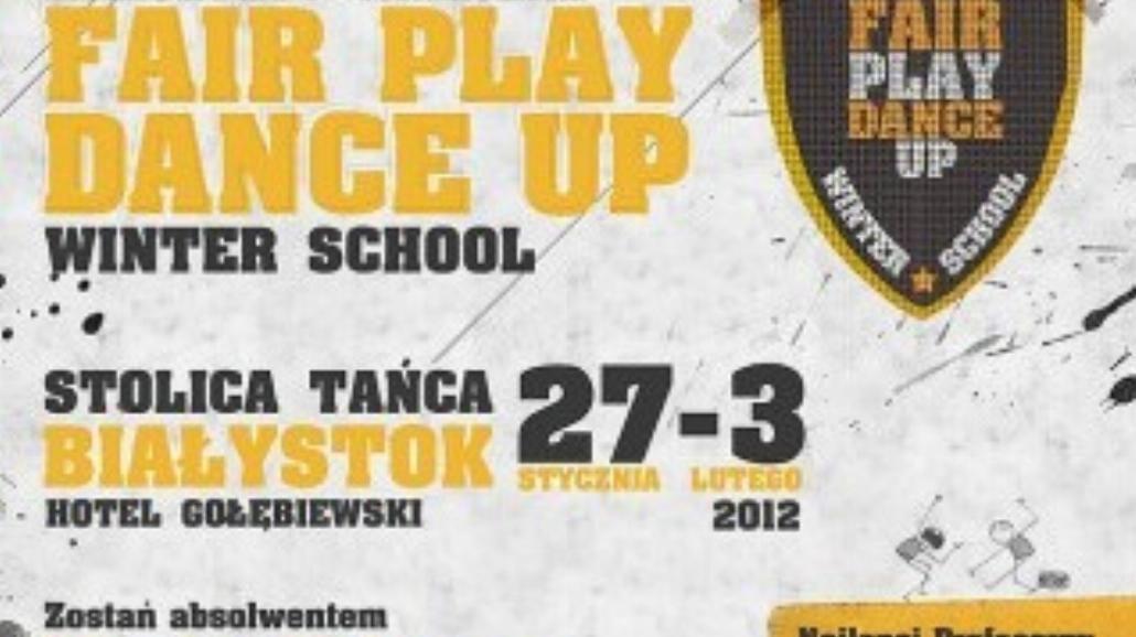Fair Play Dance Up - zimowa szkoła taneczna