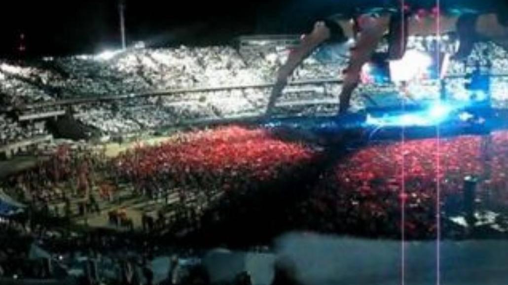 Koncert U2: zobacz flagę!