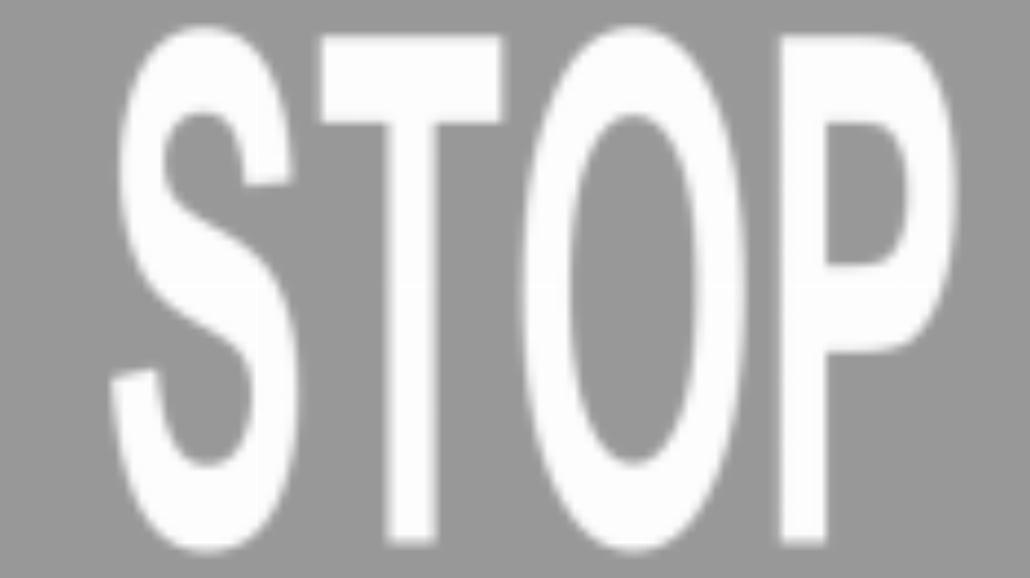 "P-16 ""napis stop"""