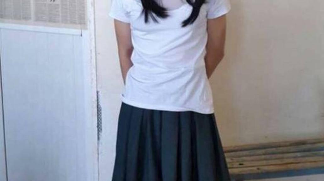 Założył perukę i spódnicę i poszedł zdać egzamin za swoją dziewczynę