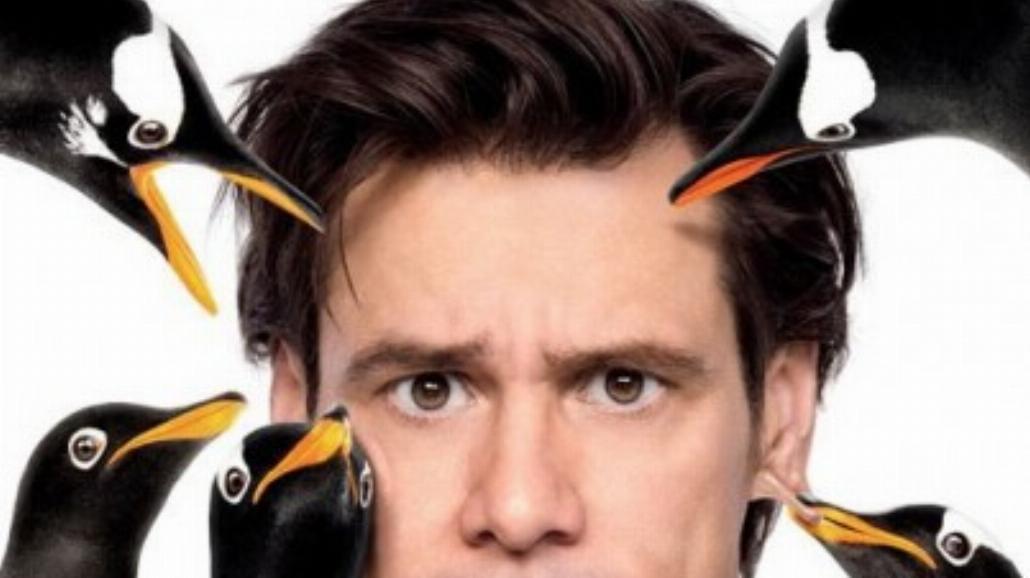 Jim Carrey i jego pingwiny - zobacz plakat
