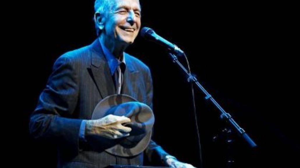 Leonard Cohen w Spodku