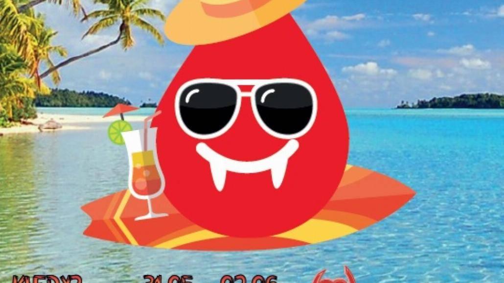 Oddaj krew na Wampiriadzie: Na Fali Życia!