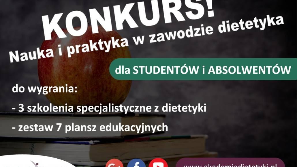 Akademia Dietetyki - konkurs