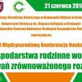 """Konferencja """"Gospodarstwa Rodzinne Wobec Wyzwań Zrównoważonego Rozwoju"""" - program, spotkania, harmonogram, prelekcje, wykłady"""