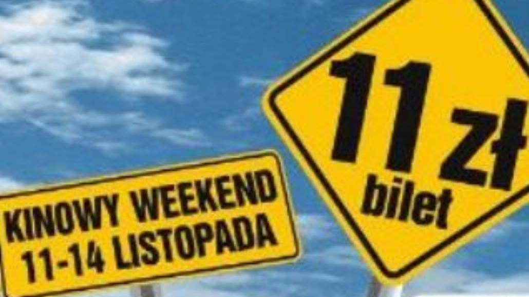 Multikino: w długi weekend bilety po 11 zł!