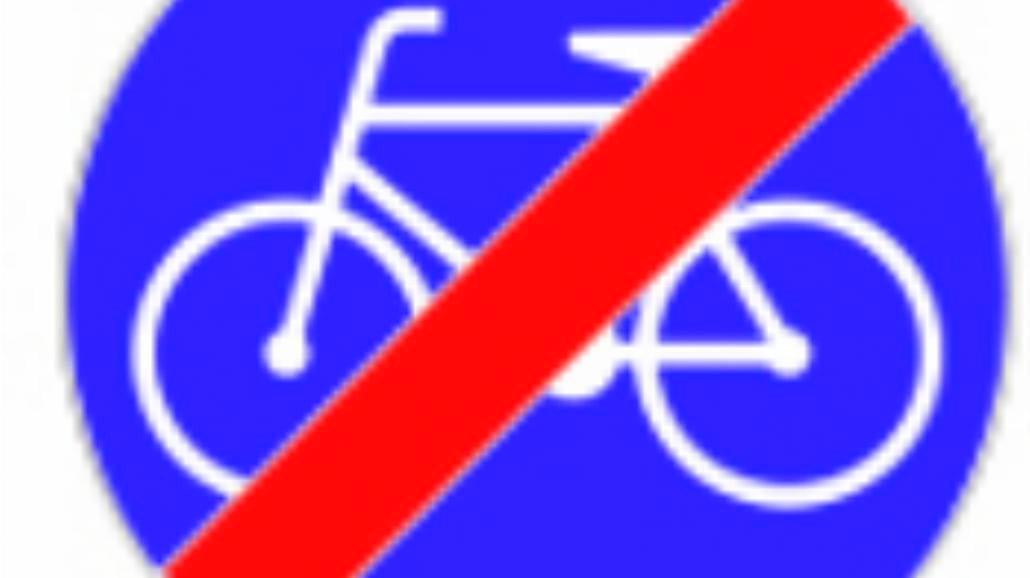 """C-13a """"koniec drogi dla rowerów"""""""